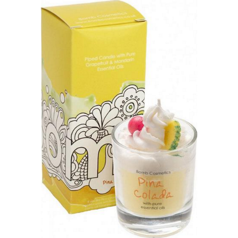 Pina Colada Cocktail Whipped Candle